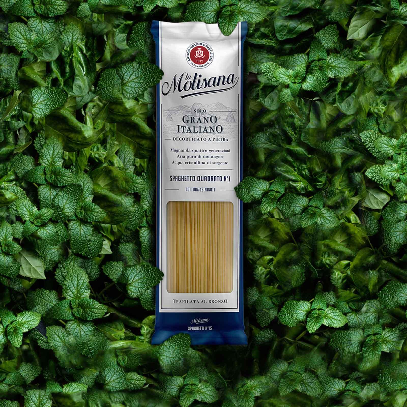 Dispenser - Packaging - Nuovo pack pasta lunga Le Classiche La Molisana